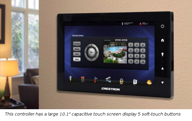 Luxury Home and Office Crestron Touchscreens For Quick and Easy Control